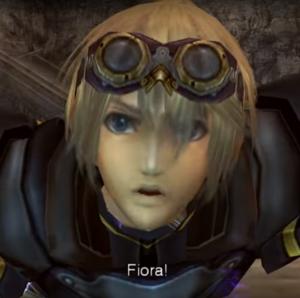 Shulk schreit 'Fiora'