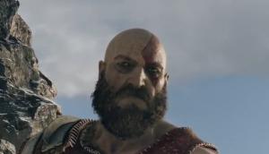 Kratos' Bart weht in der kalten Brise des God of War Tests