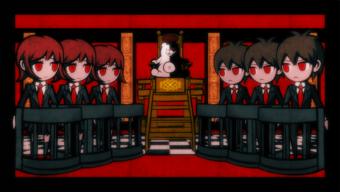 Class Trial Karikatur