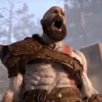 Kratos in seinem Wut Modus
