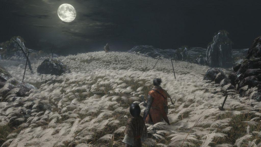 Die Nacht ist dunkel in Sekiro: Shadows Die Twice