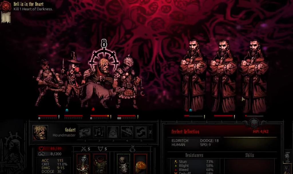 Darkest Dungeon - Rundenbasiert RPG Gameplay