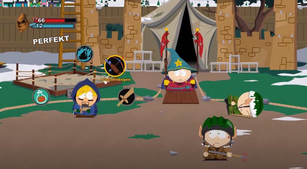 Ebenfalls ein RPG in rundenbasiert - South Park: The Stick of Truth Gameplay