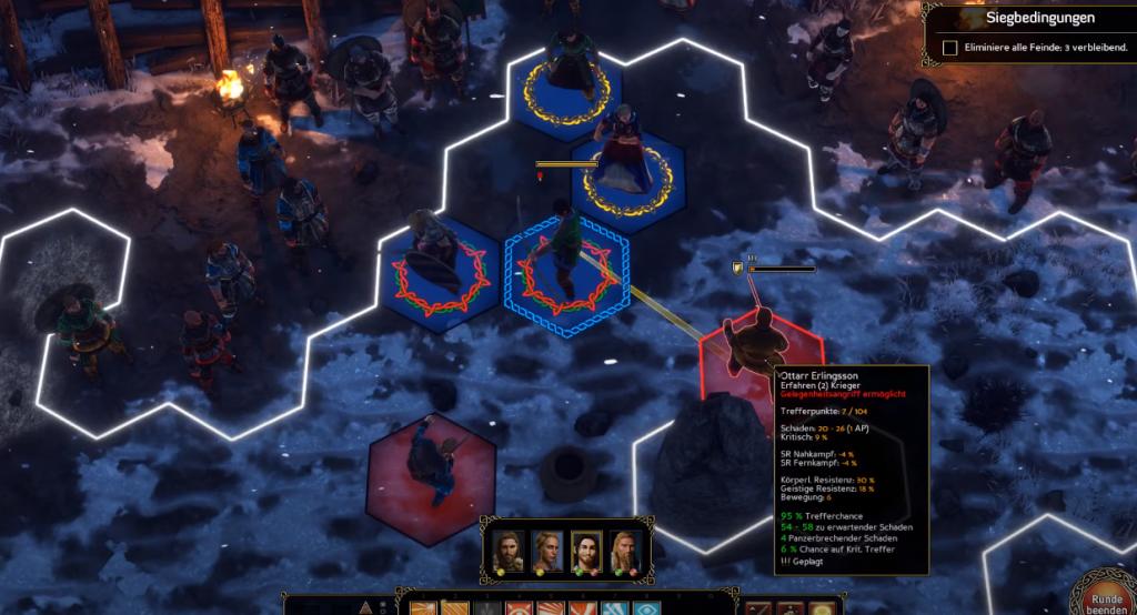 Expeditions: Viking Gameplay
