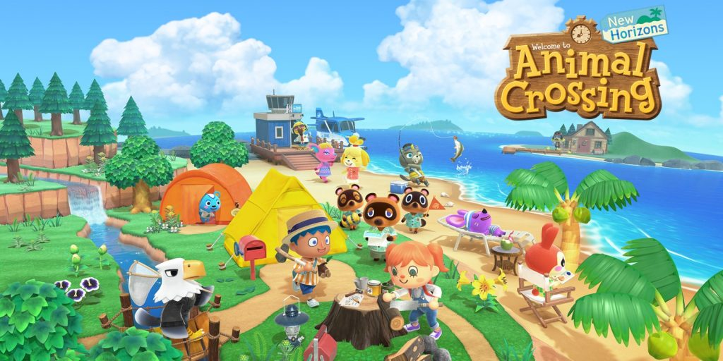 Erstes Videospiel: Animal Crossing Wallpaper