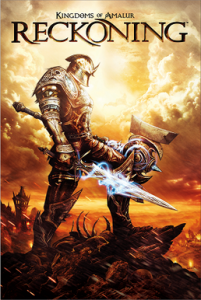Erstes Videospiel: Kingdoms of Amalur: Reckoning Cover