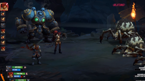 Combat in Battle Chasers: Night War