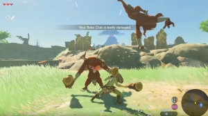 Erstes Videospiel: Breath of the Wild Gameplay