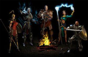 Classic ARPG: Diablo Charakters
