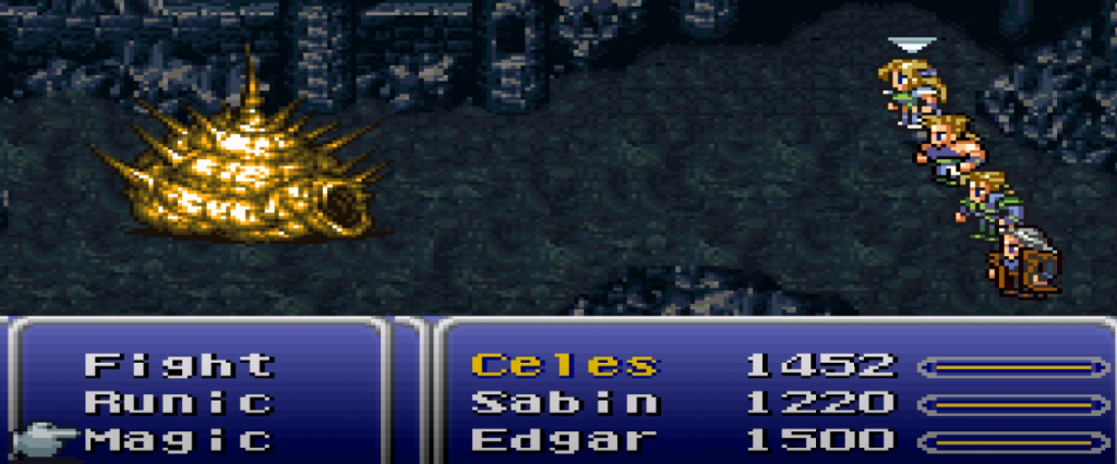 Final Fantasy 6 TRPG Gameplay