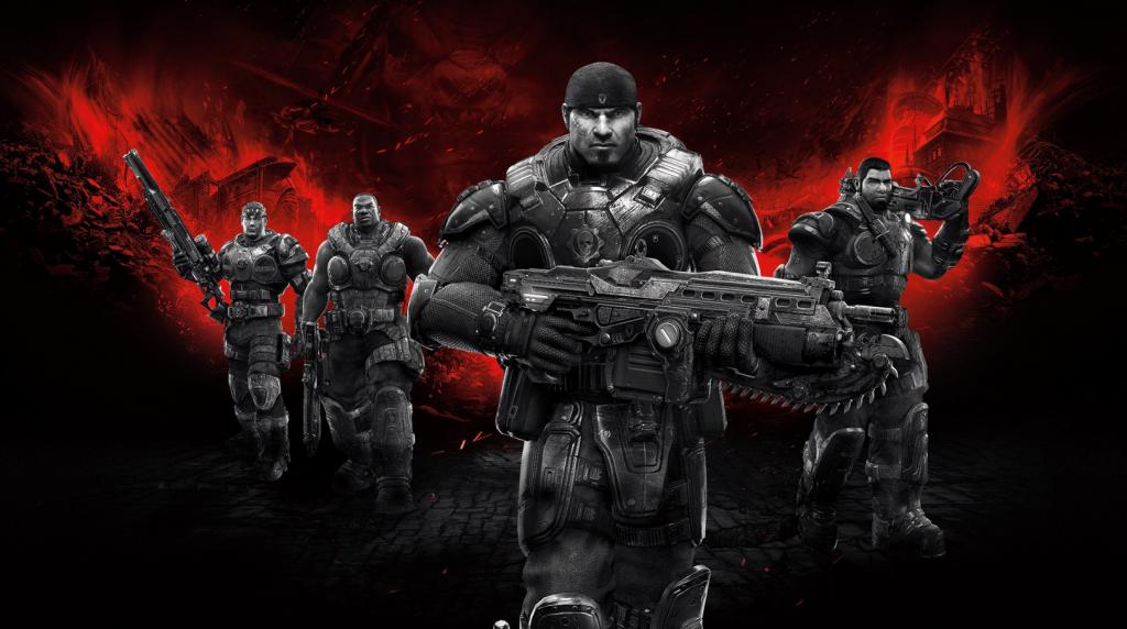 Epic Games Videospiele: Gears of War Wallpaper