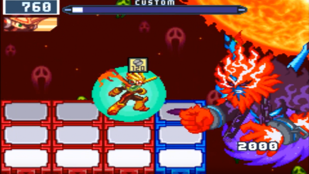 Mega Man Battle Network 5 Boss: Nebula Grey