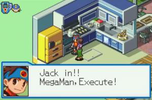 Mega Man Battle Network: Jack in Mega Man