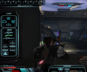 Mass Effect Kampf Gameplay