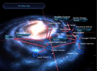 Mass Effekt: Die Milchstraße als Heimatgalaxie