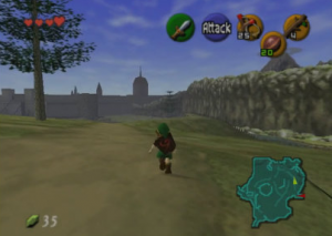 Erstes Videospiel: Ocarina of Time Gameplay