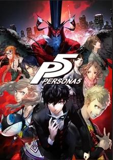 Erstes Videospiel:  Persona 5 Cover