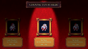 Rogue Legacy Charakter Auswahl