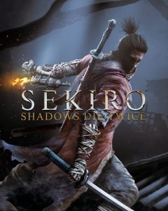 From Software Videospiele: Sekiro Shadows die Twice Cover