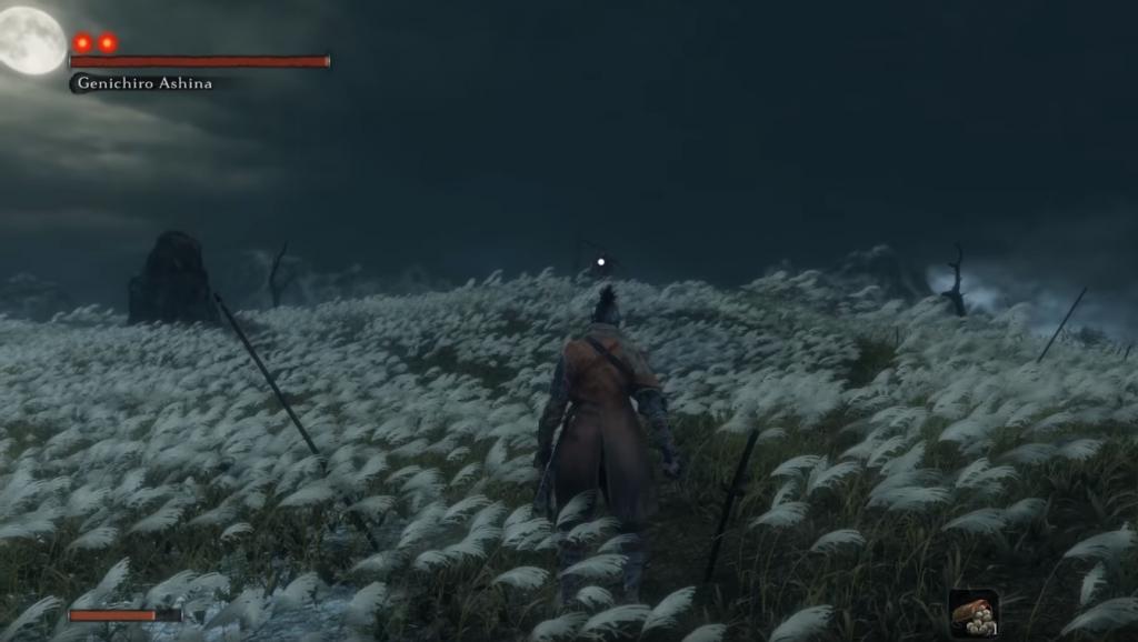 Sekiro Kampf unter dem Mond