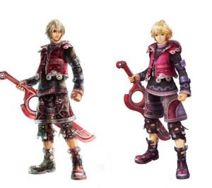 Vorher Nachher: Shulk in beiden Versionen von Xenoblade Chronicles