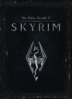 Erstes Videospiel: The Elder Scroll V: Skyrim Cover