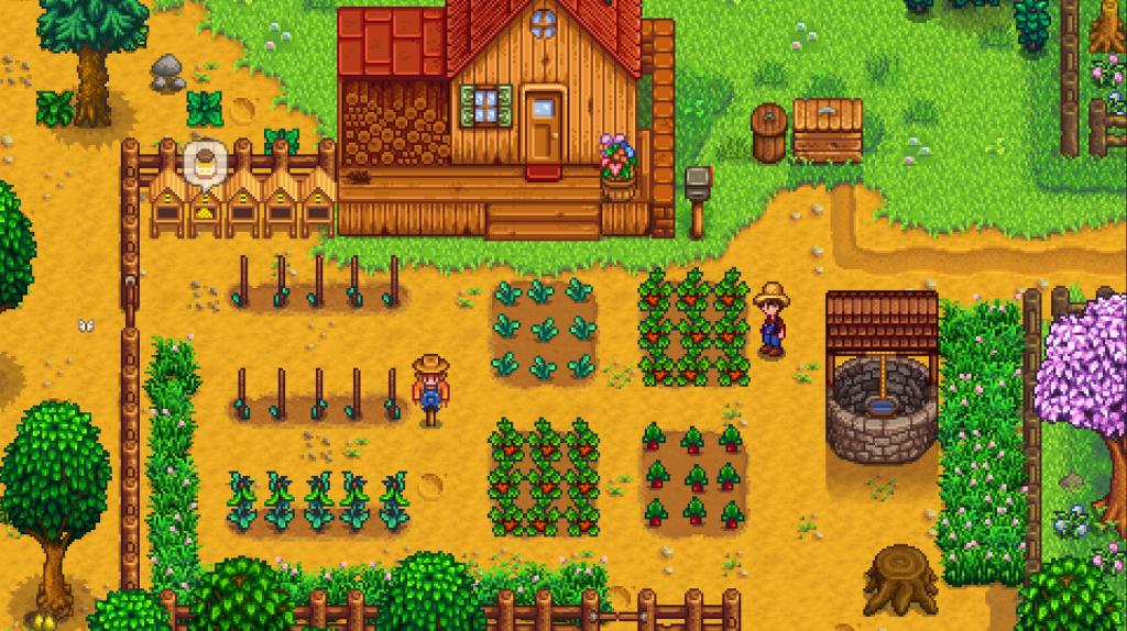 Erstes Videospiel: Stardew Valley Gamepay