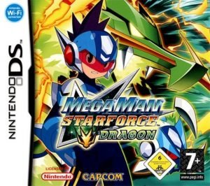Mega Man Starforce Dragon Cover