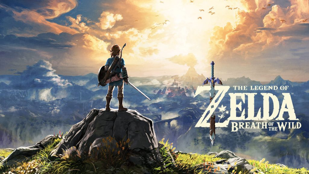 Erstes Videospiel: The Legend of Zelda: Breath of the Wild Wallpaper