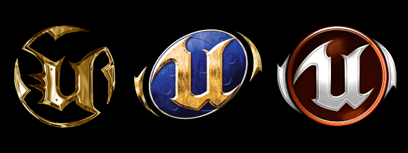 Epic Games Videospiele: Unreal Tournament Icons 1-3