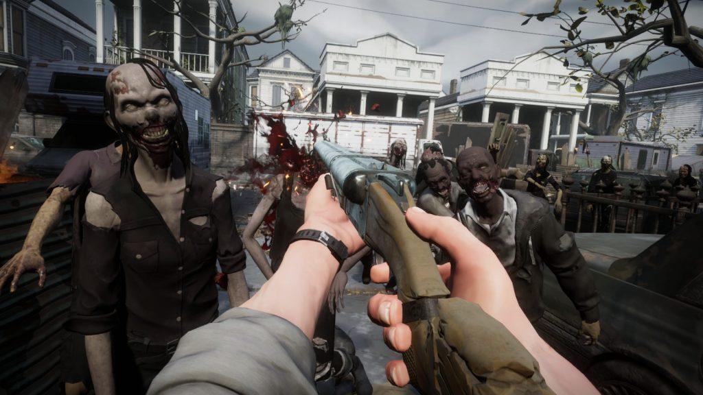 Top VR RPG: Walking Dead Gameplay