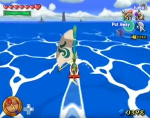 Erstes Videospiel: The Wind Waker Gameplay