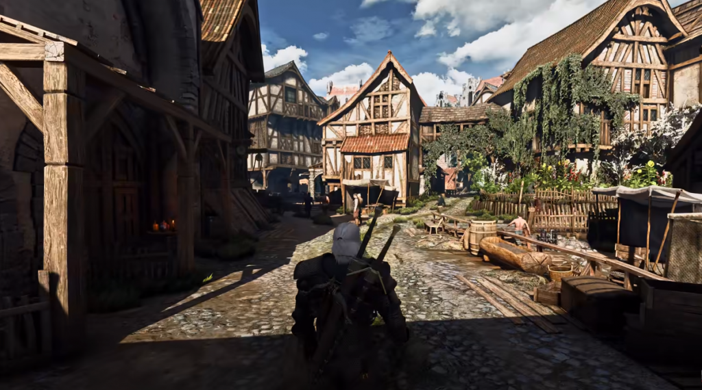 AAA+ Spiel: The Witcher 3