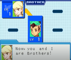 BrotherBand System in Mega Man Star Force