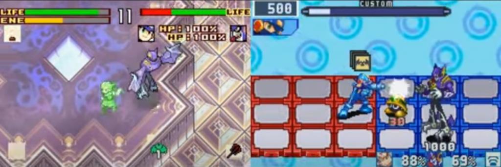 Boktai 2: Solar Boy Django X Mega Man Battle Network 5