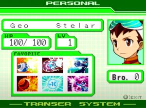 Geo Stelar: Ein Teil von Mega Man
