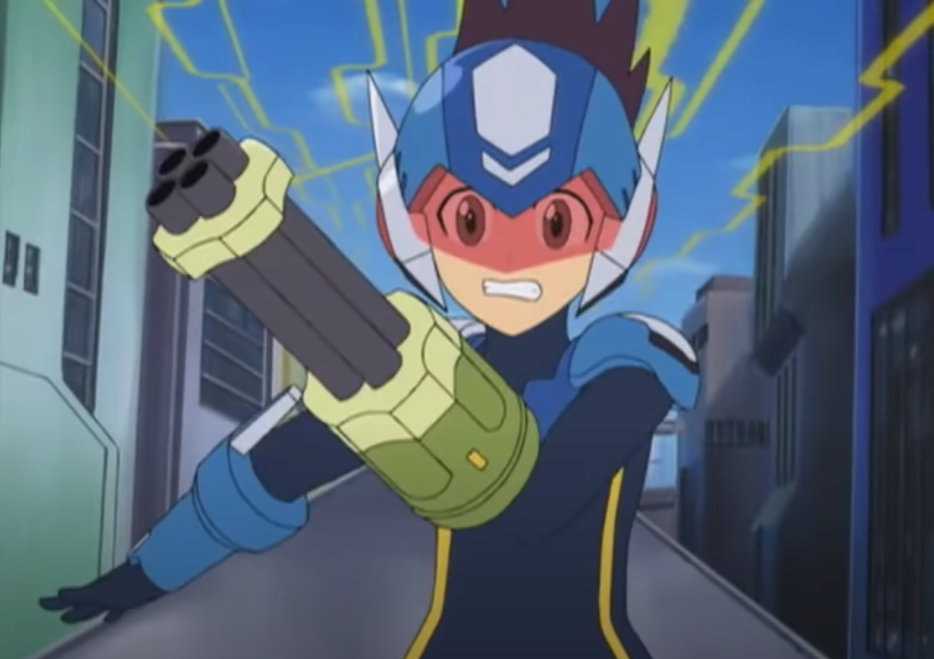 Mega Man Star Force Anime