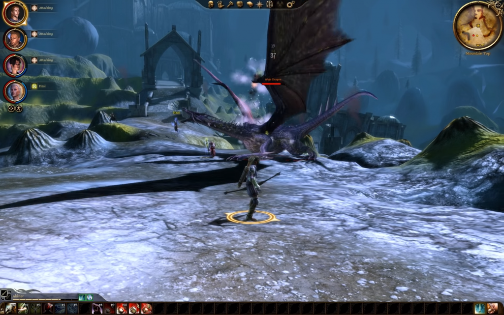 Dragon Age: Origins 3D Gameplay