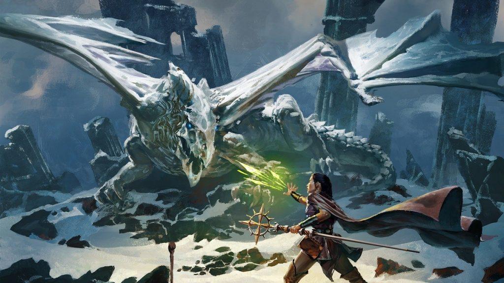 Dungeons and Dragons Eisdrache Abenteuer